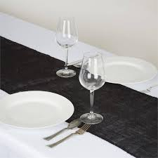 burlap table runners wholesale wholesale black rustic burlap table runner for wedding party table
