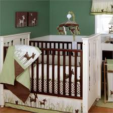 Mini Crib Bedding Set Boys Mini Cribs Grey Contemporary Child Craft Solid Wood