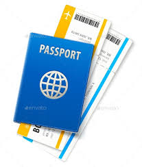 Travel documents passport and ticket by loopall graphicriver