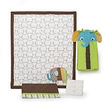 Zutano Crib Bedding Zutano Elephant 4 Crib Bedding Set