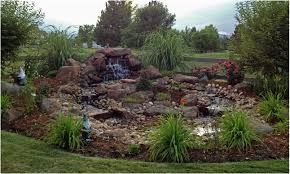 backyards impressive decorative outdoor water fountains ideas 35