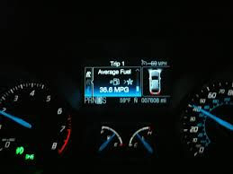 Ford Escape Warning Lights - what does the symbol on the little display mean ford focus