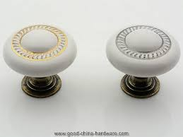China Cabinet Hardware Pulls Kitchen Cabinet Knobs Porcelain Knobs Dresser Knob Drawer Knobs