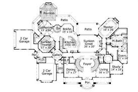 grand staircase floor plans study and dining off foyer round spiral grand staircase butlers