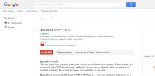 google business internship 2017 singapore armacad