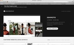 blog how to create a website for photographer with squarespace