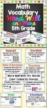 best 25 math vocabulary words ideas on pinterest vocabulary
