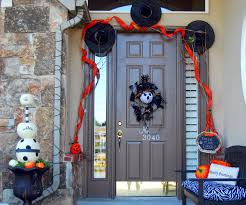Dollar Store Halloween Craft Ideas by Dollar Store Craft Halloween Front Door Project Tutorial My Blog