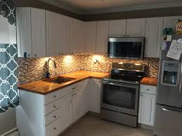 butcher block countertops and backsplash album on imgur finished product youtube and r diy were a huge help with this project i don t know if i would have had the confidence to do this project without being