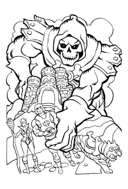james eatock presents the he man and she ra blog coloring book