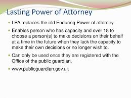 Lasting Power Of Attorney For Property And Financial Affairs ppt lasting power of attorney and living wills powerpoint