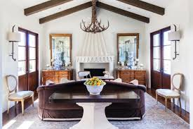Hunting Decor For Living Room by Decorations Fascinating Modern Cabin With Wood Beam Ceiling Also