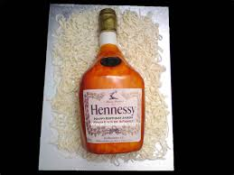 image gallery of hennessy bottle cake