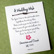 Wedding Bible Verses For Invitation Cards Hawaii Island A Wedding Wish Infinity Love Knot Wish