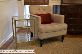 living room end tables u2014 from black to gold