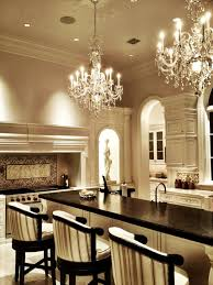 Chandelier Kitchen Terrific Kitchen With Double Chandeliers Kitchens Pinterest