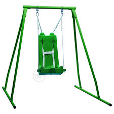 indoor outdoor swing frame portable swing frame set