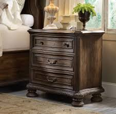 Lighted Nightstand Hooker Furniture Bedroom Rhapsody Three Drawer Nightstand 5070 90016