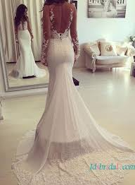 best 25 backless wedding dress with sleeves ideas on pinterest