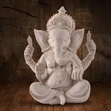 gifts crafts india sandstone buddha statue ganesha figurine