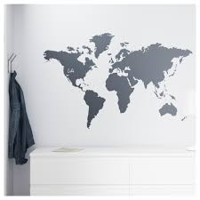World Map Wall Sticker by