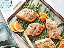 recette cuisine saine préparez vous des papillotes de saumon et asperges pour manger sain
