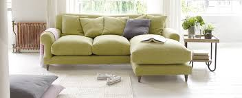 L Shaped Sofa With Chaise Lounge Small L Shaped Sofas Made In Blighty Loaf Small Space Living