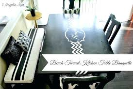 chalk paint kitchen table ideas gray tutorial subscribed me