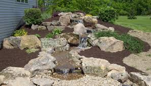 small pond waterfall designs garden design with diy back yard
