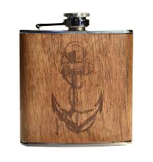 anchor wood handmade in the usa wood flasks from the wood reserve