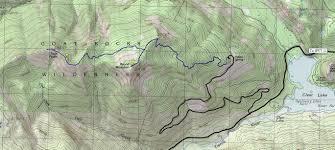 Twin Peaks Map Round Mountain U0026 Twin Peaks White Pass Hiking
