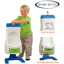peter potty flushable toddler urinal walmart com