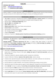 Smt Operator Resume Qa Executive Resume