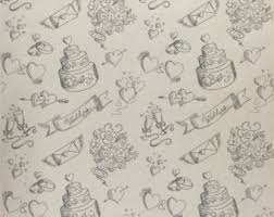wedding wrapping paper knife fork spoon medley wrapping paper kraft wrap