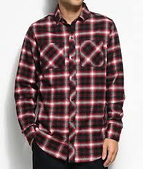 Flannel Shirts Ninth Lank Black Flannel Shirt Zumiez