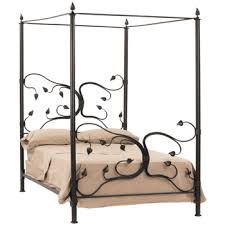 Iron Canopy Bed Wrought Iron Canopy Beds