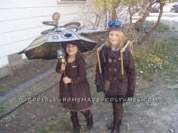 Umbrella Halloween Costume Halloween Steampunk Style Family Costume Steampunk Steampunk