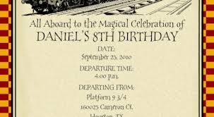 harry potter party invitations ideas harry potter themed party