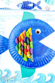 paper plate fish craft archives natural beach living