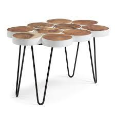 Table Basse Teck Alinea by Table Basse Teck Comparez Les Prix Avec Twenga