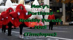 macy s portland parade 2015 timelapse