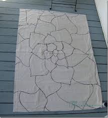 Painting An Outdoor Rug Best 25 Drop Cloth Rug Ideas On Pinterest Washable Rugs Cheap