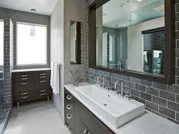 bathroom tile backsplash captivating backsplash in bathroom home