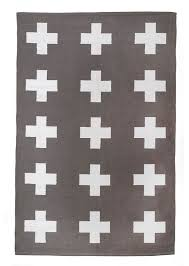 Gray Rug 8x10 Union Rug 8x10 Grey And White Cross Cotton Dhurrie Rug Plus Sign