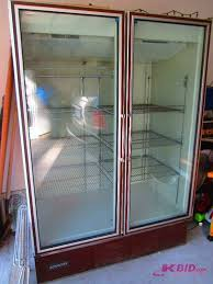 glass door refrigerator for sale commercial nsf double glass door display cooler in watertown