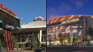 Key Arena Floor Plan Nba Nhl Respond To New Seattle Arena Keyarena Proposals King5 Com