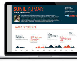 Quick Resume Builder Interactive Resume Builder On Behance