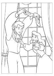 coloring pages coloring cinderella coloring pages