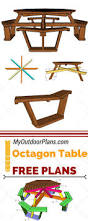 Free Diy Patio Table Plans by Best 25 Picnic Table Plans Ideas On Pinterest Outdoor Table