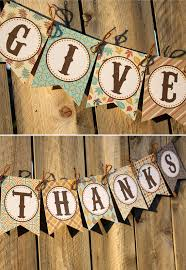 give thanks banner by thelovelyapple on etsy 6 00 fall